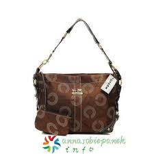 In Coffee Coach Waverly Monogram Small Shoulder Bags