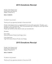 Non Profit Donation Letter Template Thank You For Donation Letter Template Sample Fundraising
