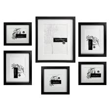 blair 6 piece slim box gallery wall set