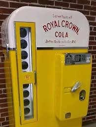 Rc Cola Vending Machine Custom EMBOSSED ROYAL CROWN Cola Rc Soda Machine Coca Cola Vendo Vmc Bottle