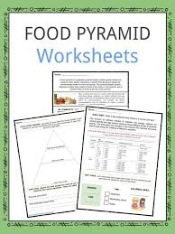 Food Pyramid Facts Worksheets Key Information For Kids