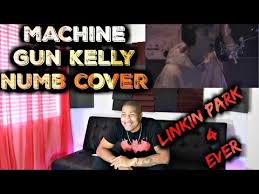 linkin park 4 ever machine gun kelly numb cover reaction