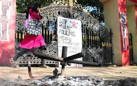 Sfi Suspends Three Activists For Burning Principals Chair The Hindu