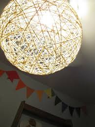 diy faux capiz shell ceiling light, A Happy Place Called Home featured on  Remodelaholic