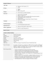 informatica resume sample 29042017 pl - Informatica Resume