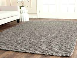 soft grey rug casual natural fiber hand woven light grey chunky thick gray jute rug soft soft grey rug