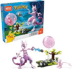 Mega Construx FVK77 - Pokemon Mew vs. Mewtu Bauset mit 341 Bausteinen,  Spielzeug ab 8 Jahren: Amazon.de: Spielzeug