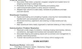 Warehouse Coordinator Resume Gallery For What Makes Production