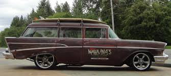 57 Chevrolet Bel Air 150 Station Wagon | Long Roof Love ...