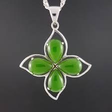 jade pendant high quality leaf pic 1