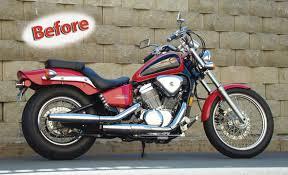 1999 honda shadow blue collar bobber finale motorcycle magazine