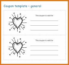 free coupon template word coupon template word letter format business