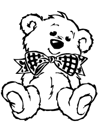 Small Picture Teddy Bear Coloring Pages chuckbuttcom