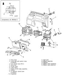 repair guides heater core removal & installation 1 autozone com heater box diagram 98 lincoln town car at Heater Box Diagram