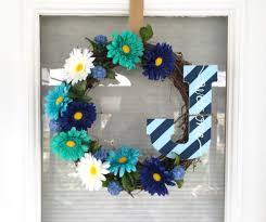 diy spring summer wreath for under 10