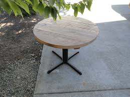 42 inch round dining table wood