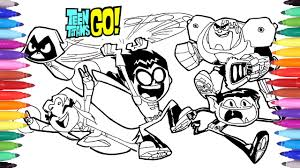 Small Picture Teen Titans Go Coloring Pages How to Draw Teen Titans Teen