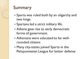 athenian form of government sparta and athens chapter 8 lesson 4 objectives describe daily life