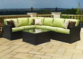 Forever Patio Hampton Wicker Curved Sofa  Replacement Cushion Replacement Cushion Covers Outdoor Furniture