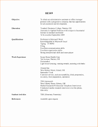 Administrative Assistant Resume Objective Examples Elegant Objective