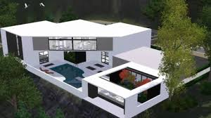 Sims 3 Design The Sims 3 House Modern Scenic Home Hd Sims House