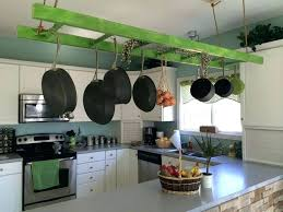 kitchen hangers for pots and pans wall mounted pot and pan racks hanging pot rack bakers