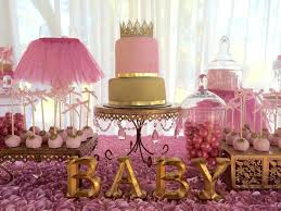 Tutu Baby Shower And Tiara Ideas Themes Games Interior Design Pink Gold  Decorations