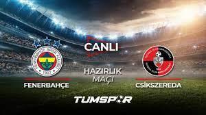 Fenerbahçe hazırlık maçı canlı izle! Fenerbahçe You Tube kanalı FB  Csikszereda canlı skor - Tüm Spor Haber
