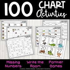 100 Chart Activities