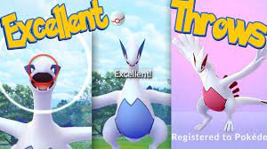 LUGIA Excellent Throws EVERY TIME! How To Get Excellent Throws on SHINY  LUGIA