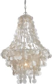 sterling 122 025 contemporary mother of pearl shell with white foyer lighting loading zoom