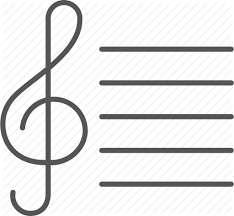 Music Staff Treble Clef Clef Melody Music Notes Song Staff Treble Icon