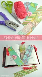 easy tassel bookmark that you can make at home