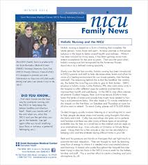 Wellness Newsletter Templates 12 Family Newsletter Template Free Psd Pdf Documents