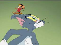 Tom and Jerry Movie Dog On Skateboard (Page 1) - Line.17QQ.com