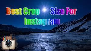 best size for instagram the best crop size for instagram photos in lightroom youtube