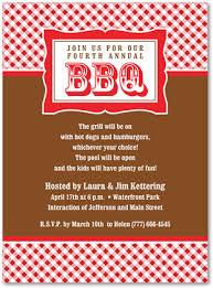 Barbeque Invitation Classic Red Plaid Bbq Party Invitations Barbeque Invitations 23900