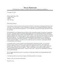 Criminal Defense Lawyer Resume Attorney Cover Letter Cover Letter