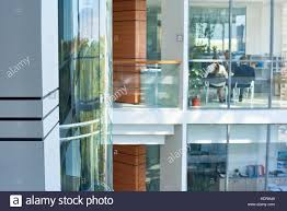 office building interior busy. Unique Office Interior Of Busy Office Building  Stock Image For S