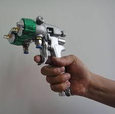sat1189 mini paint sprayer spray air compressor chrome plating hvlp yuntool