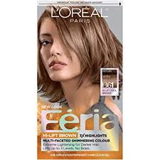 Nice And Easy Hair Colour Chart South Africa Loreal Paris Feria Multi Faceted Shimmering Permanent Hair Color B61 Downtown Brown Hi Lift Cool Brown 1 Count Kit Hair Dye