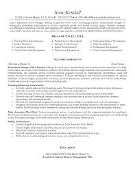 Sales Objective For Resume
