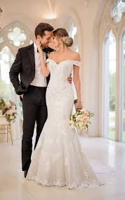 glamorous mermaid wedding gown stella york wedding dresses