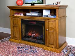 11 oak fireplace entertainment center electric fireplaces from portablefireplacecom mccmatricschool com