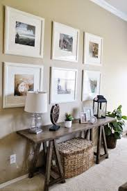 Entry way - Living Room Decor // Ikea Picture Frame Gallery Wall // Sofa