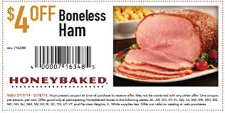 honey baked ham coupons. Delighful Coupons Intended Honey Baked Ham Coupons T