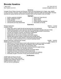 Personal Trainer Resume Example No Experience Best Of Personal Trainer Resume No Experience Aurelianmg