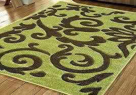 solid green area rug designs