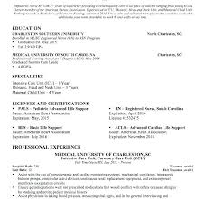 Professional Nursing Resume Cover Letter For New Icu Nurse Er Nurse Resume Example Cover Letter