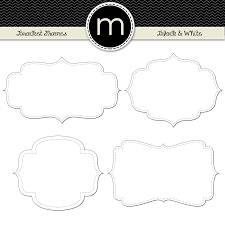 printable bracket frame. Clip Art | Maxine Reneé Designs Printable Bracket Frame B